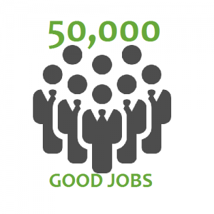 Agora Enterprises create 50,000 good jobs goal
