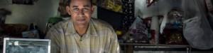 Man at Food Counter Good Jobs Gap